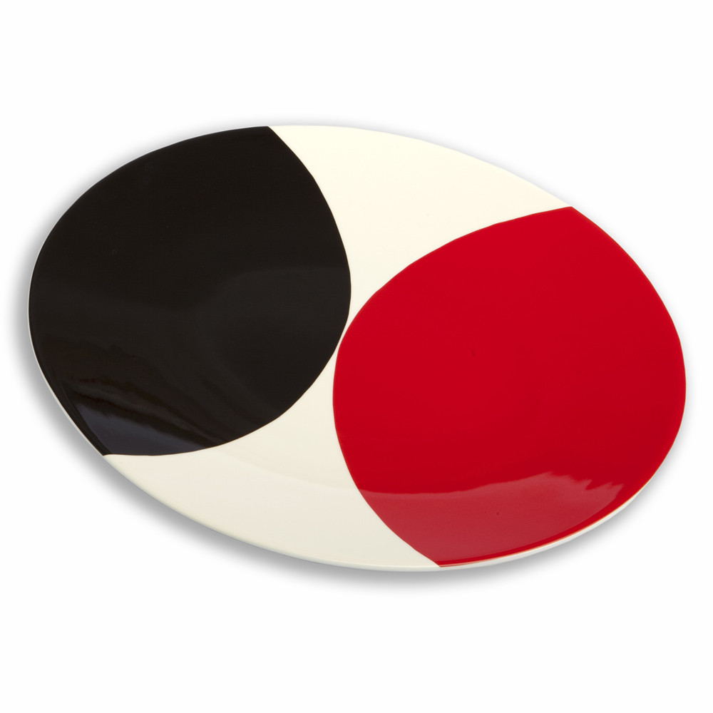 Terry Frost Red Black Plate