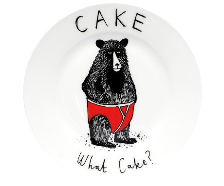 Cake? What Cake? Side Plate