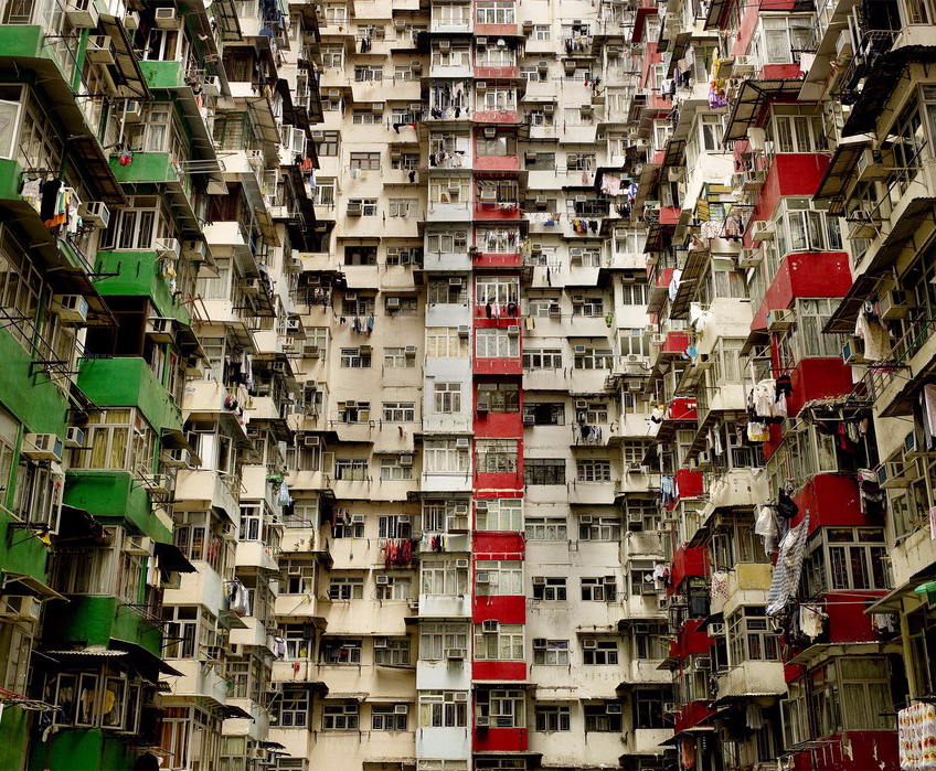 Hong Kong Apartments II by Chris Frazer Smith