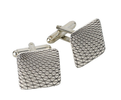 British Museum Great Court Roof Cufflinks