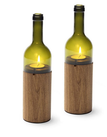 Set of Wine-Windlights by Jette Scheib & Side By