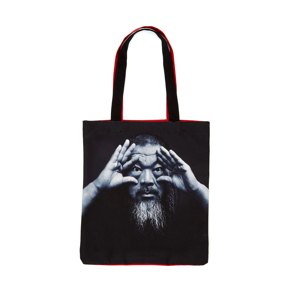 Ai Weiwei Portrait Tote Bag