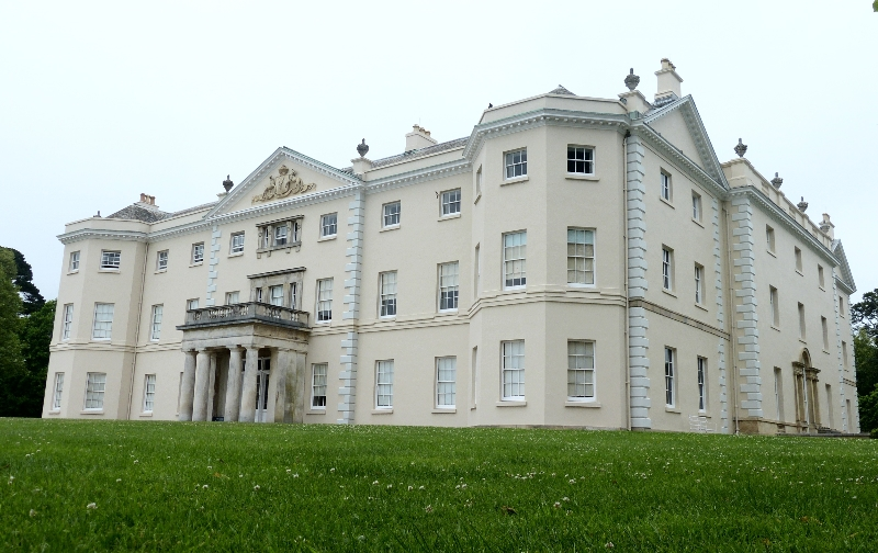 Front of Saltram House