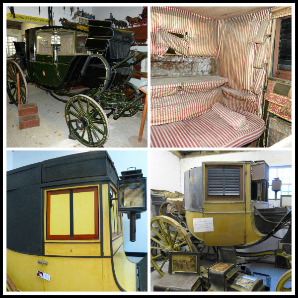 A collage of travelling chariots