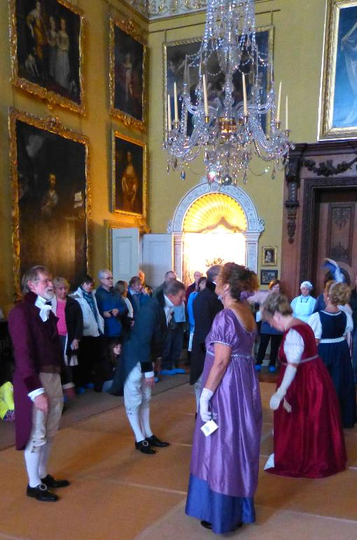 The Ring of Eight dancers at Kingston Lacy