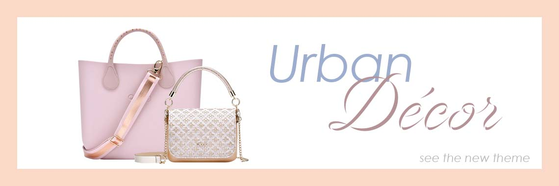 o bag spring collection urban decor