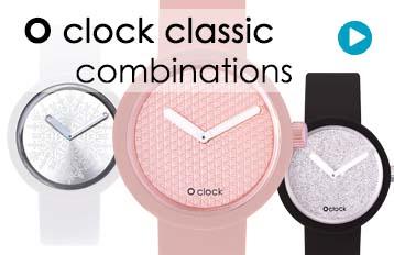 O clock watch combinations