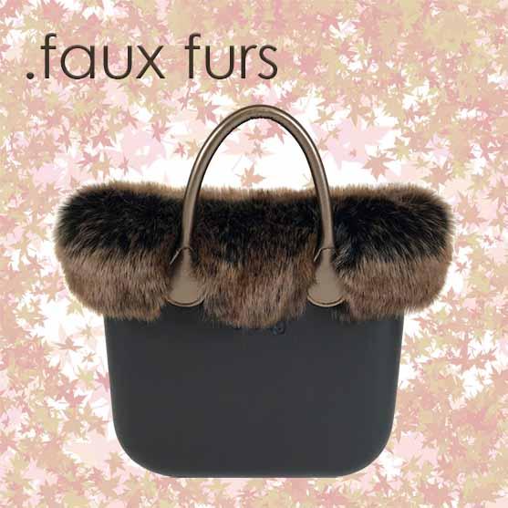 obag faux furs