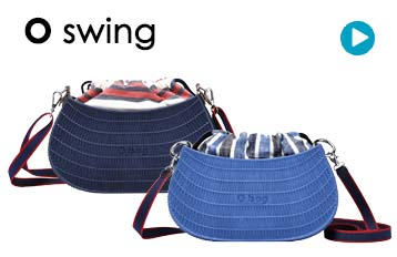 O swing shoulder bag