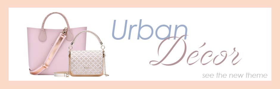 O bag Spring collection Urban Decor
