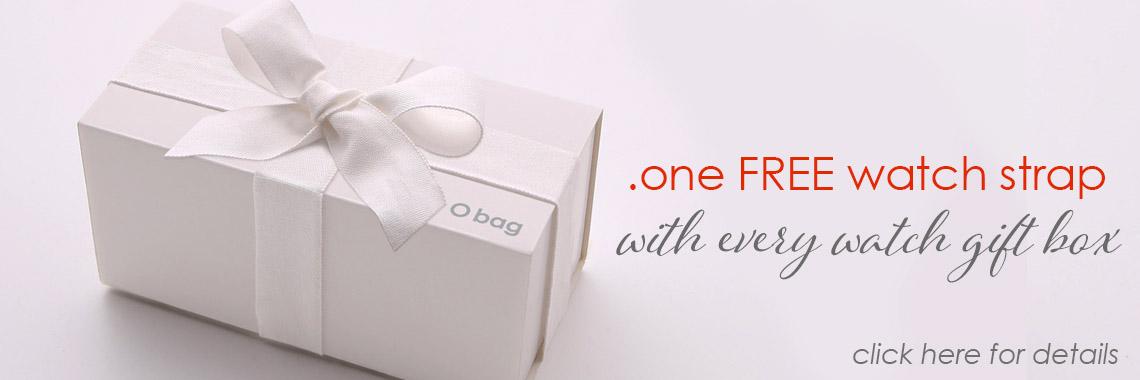 o clock watches Christmas gift box