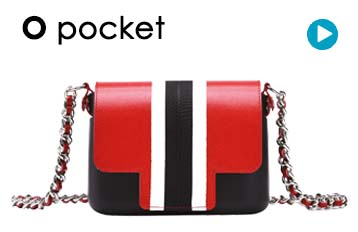O pocket shoulder bag