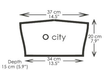 O city handbags