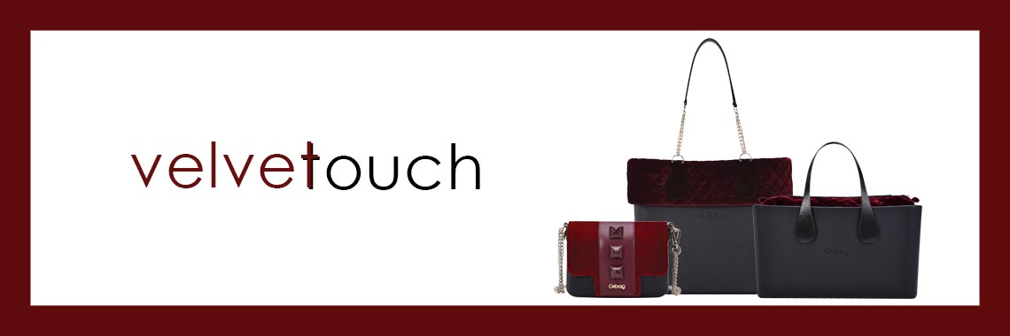 obag winter collection velvet touch