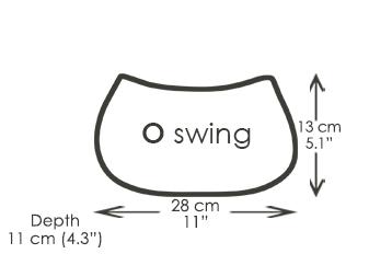 O swing shoulder bag