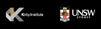 Kirby Institute and UNSW logos