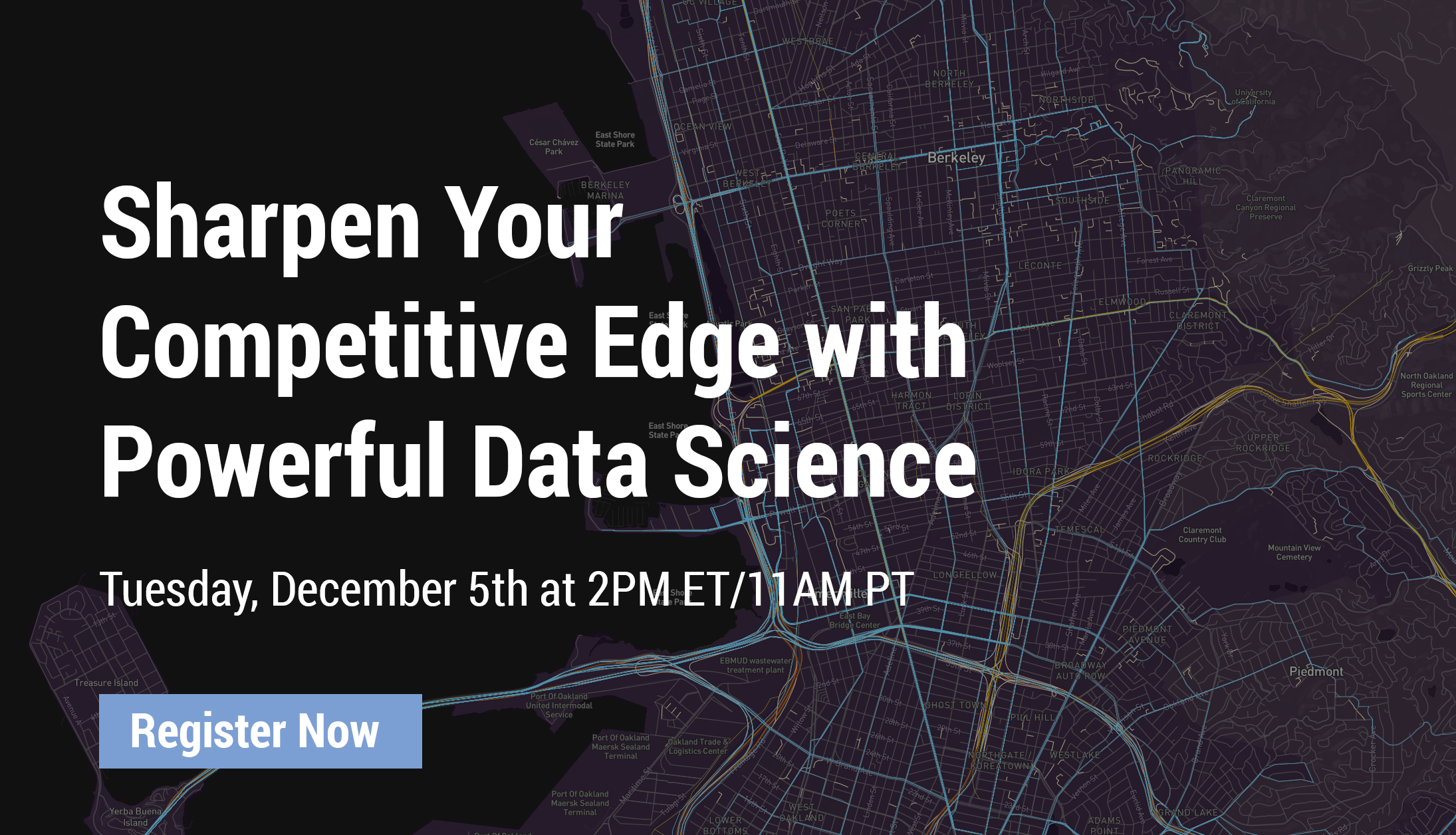 UrbanFootprint Webinar | Sharpen Your Competitive Edge with Powerful Data Science