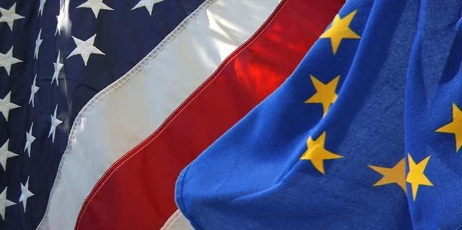 US-EU Flags