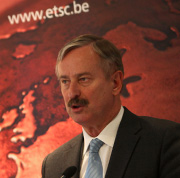 Commissioner Kallas speaking at the ETSC PIN conference 2013