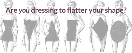 women's horizontal body shapes
