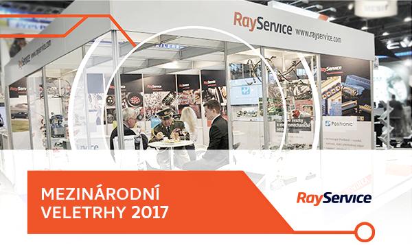 Ray Service Mezinárodní veletrhy 2016