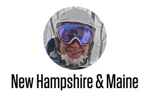 New Hampshire & Maine Daily Snow