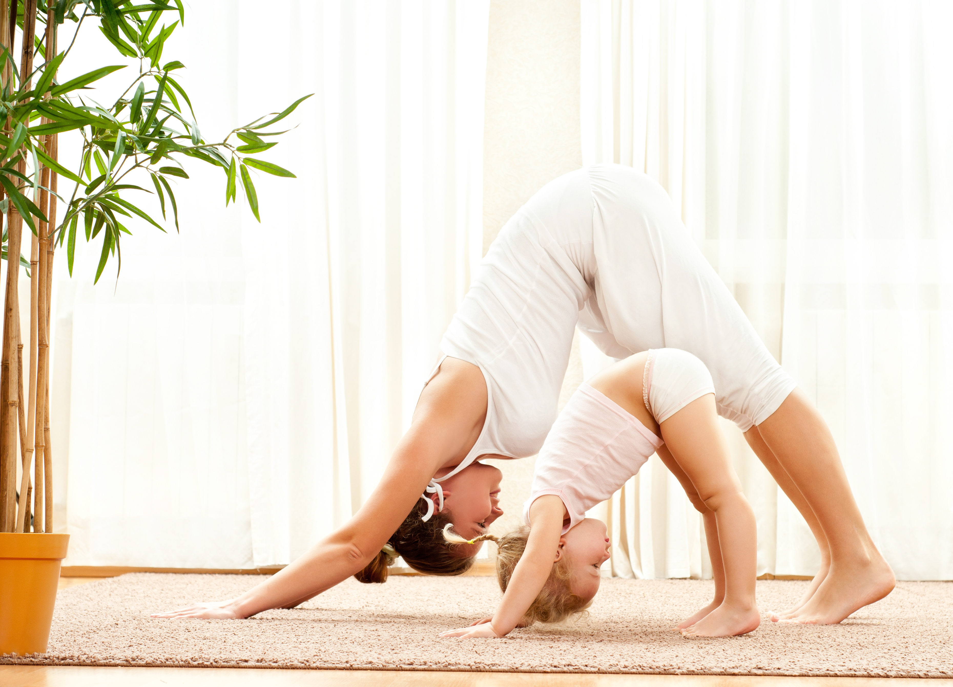 Yoga doesn't stop with you think about what it passes on to your family.