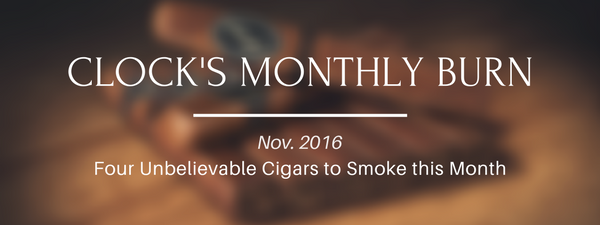 Clock's Monthly Burn – November 2016