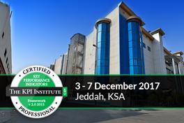 Certified KPI Professional and Practitioner, Jeddah, KSA