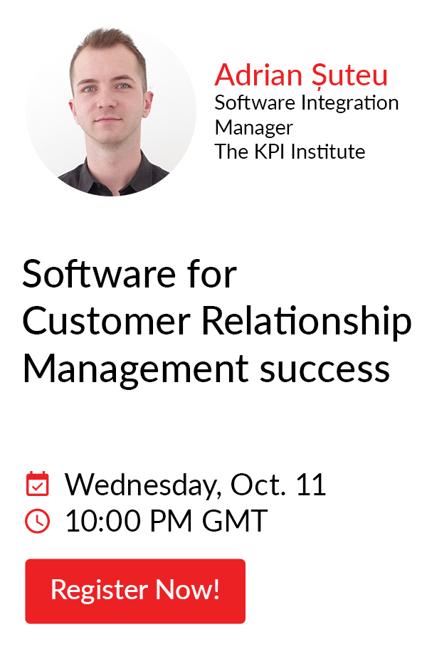 Software for Customer Relationship Management success