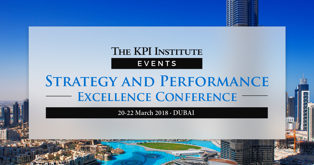 Strategy and Performance Excellence Conference Dubai 2018