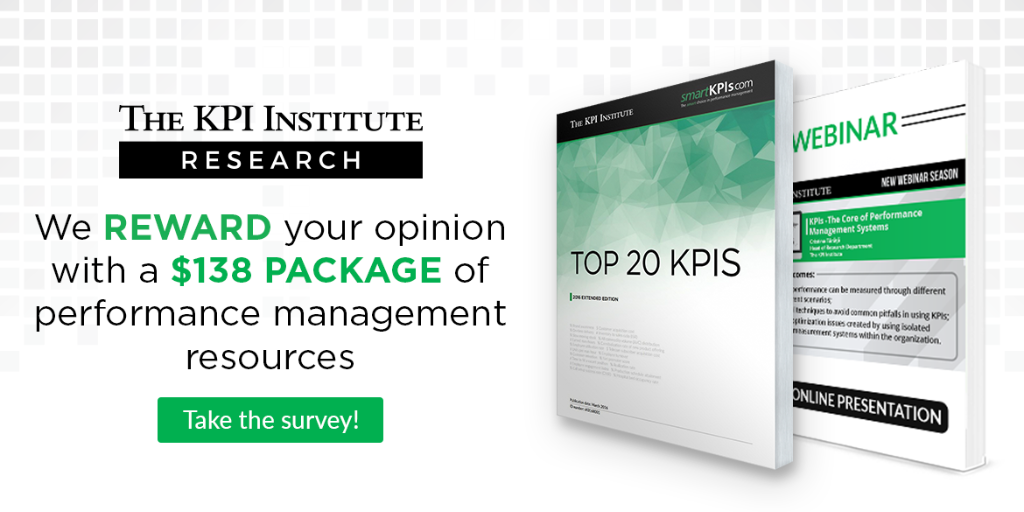 State of Performance Improvement and KPIs Survey