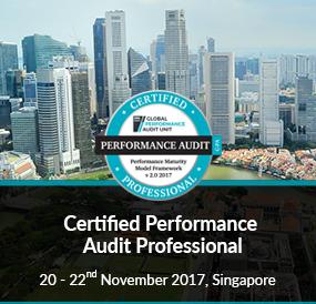 Certified Performance Audit Professional, November 2017, Singapore