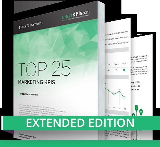 TKI Top 25 Marketing KPIs