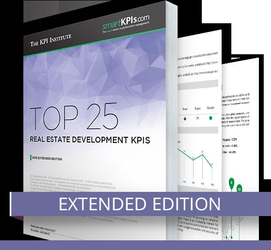TKI Top 25 Real Estate Development KPIs