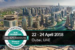 Certified Data Vizualization Professional, Dubai