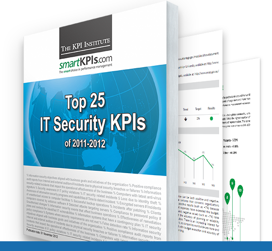 TKI Top 25 IT Security KPIs