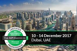 Certified KPI Professional and Practitioner, Dubai, UAE