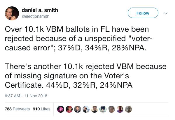 Screen grab of Dr. Smith's tweet