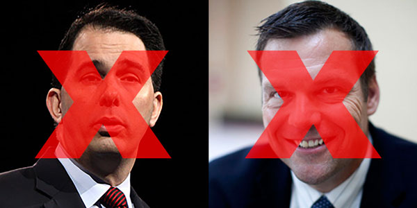 Scott Walker and Kris Kobach