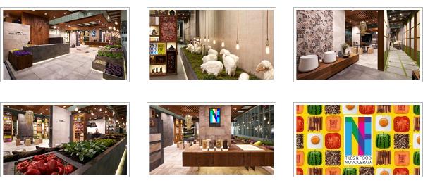 Tutte le immagini di Tiles & Food Novoceram