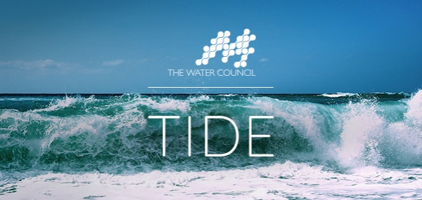 The Water Council's Tide Image of Crashing Wave