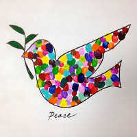 Image result for peace dove art
