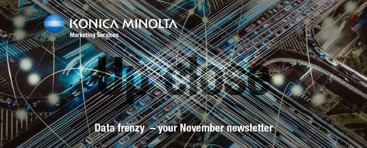 Data frenzy – your November newsletter