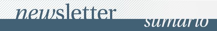 mewsletter | sumario