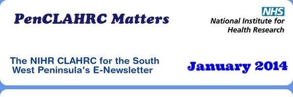 PenCLAHRC Matters - January 2014