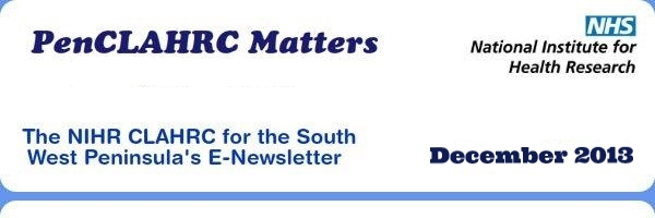PenCLAHRC Matters: The Inside Story - August 2013