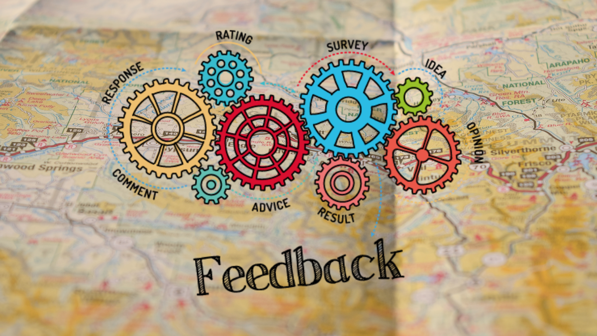 decorative graphic for feedback survey
