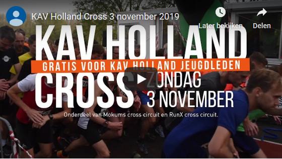 Klik om het filmpje voor de KAV Holland Cross 2019 te bekijken