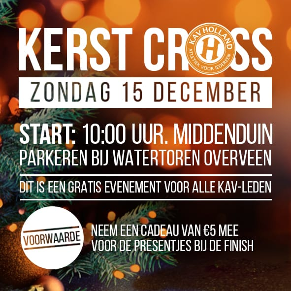 Kerstcross 15 december